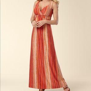 Soma Britney Viva Orange Maxi Dress